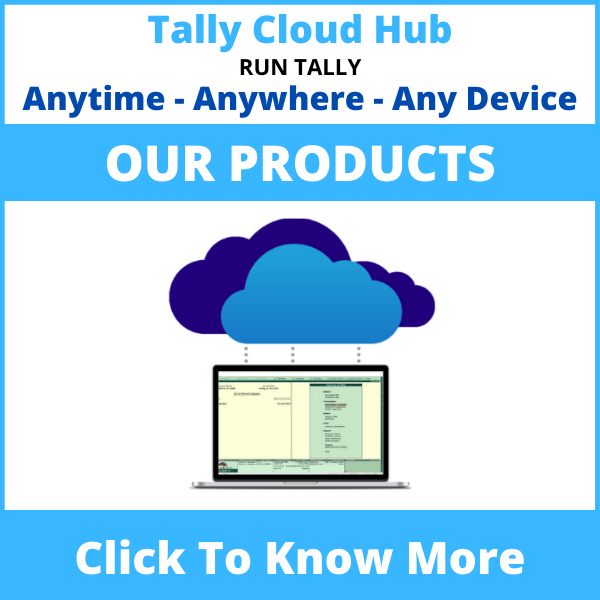 Tally Cloud Hub Products