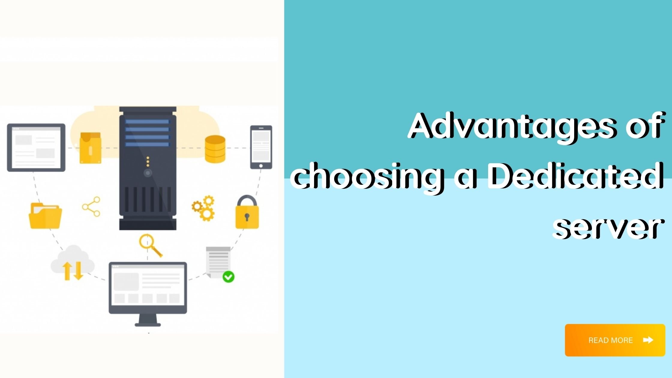 Dedicated server advantages