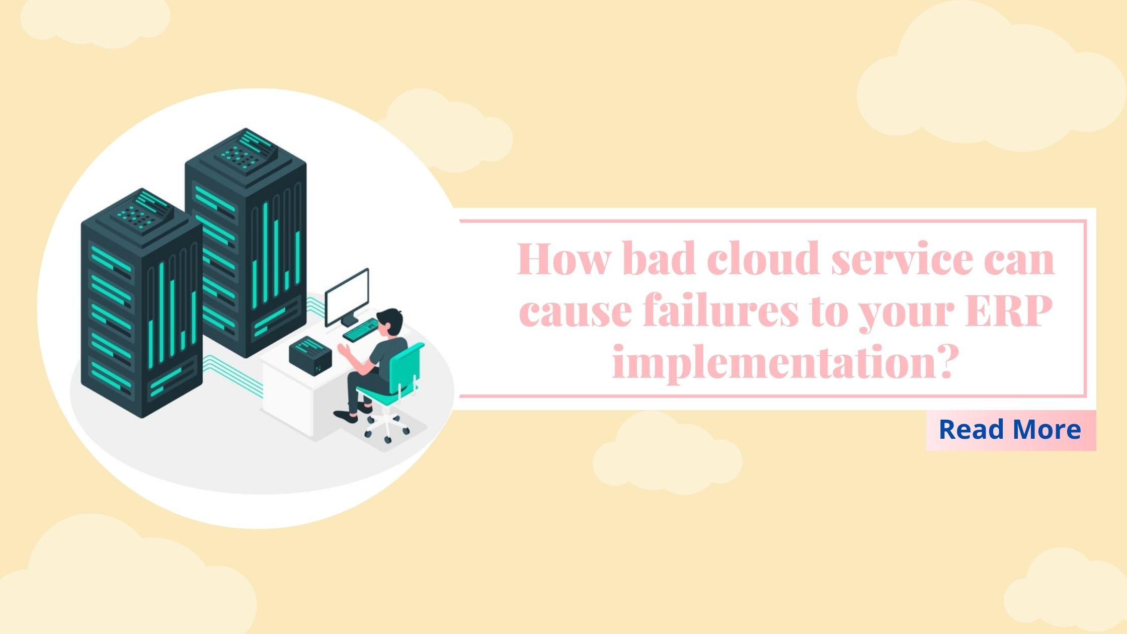 Cloud service ERP implementation