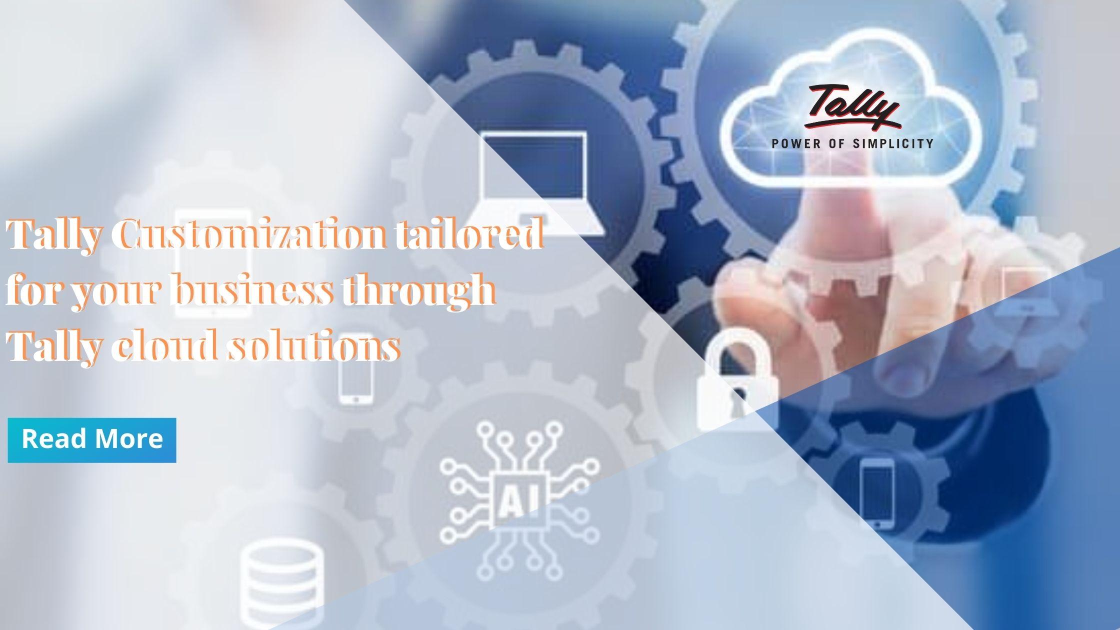 Tally Customization on cloud