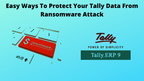 Protect Tally On Cloud From Ransomware Attack