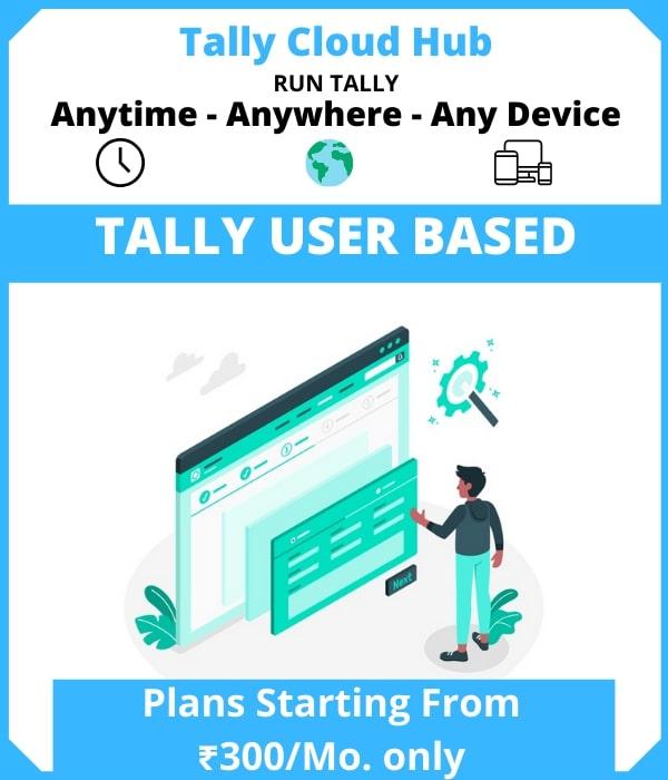 Tally User Based