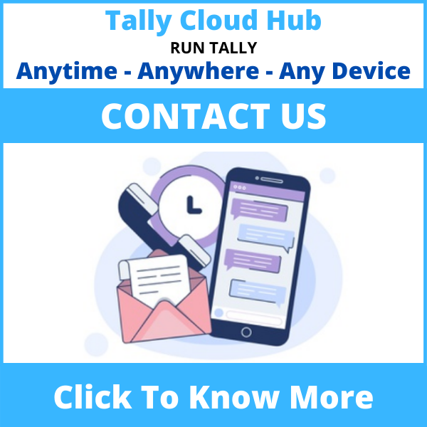 Tally Cloud Hub Contact Us
