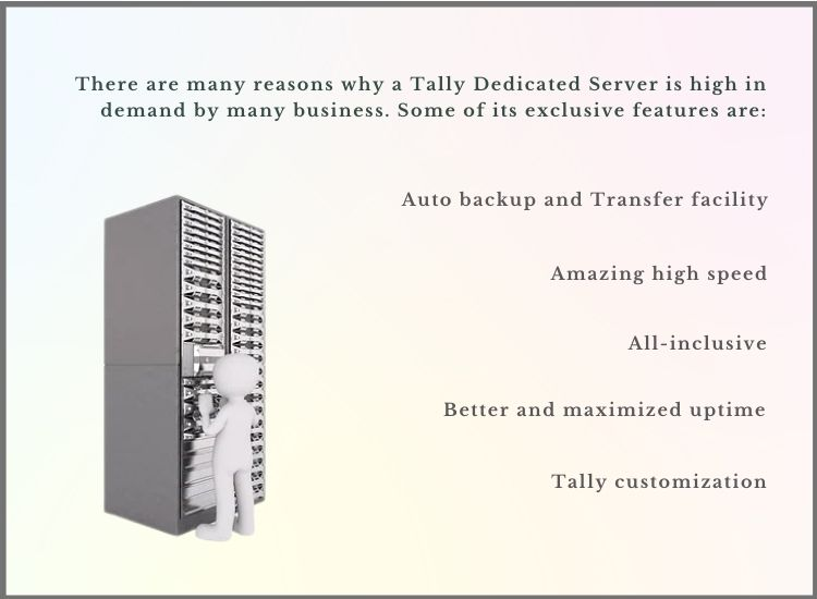 Tally cloud dedicated server