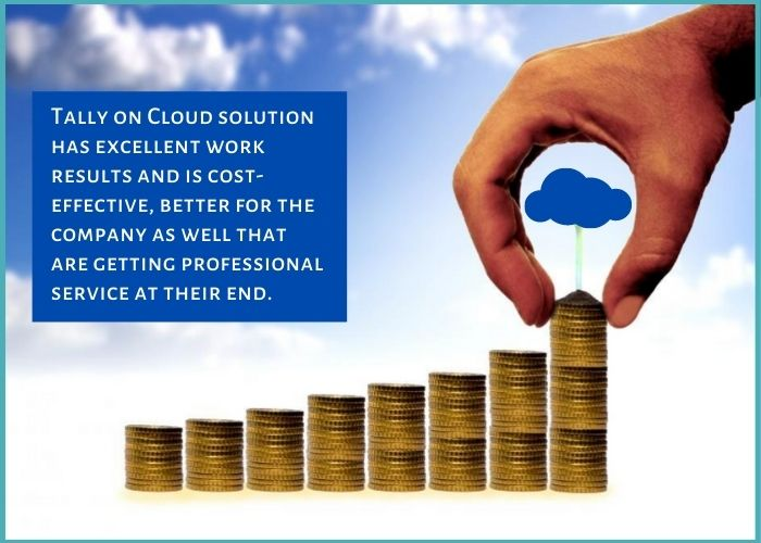 Tally on cloud solution