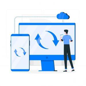 Tally on cloud synchronization