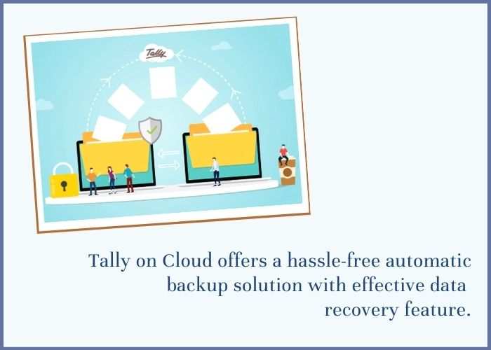 Tally erp on cloud data backup