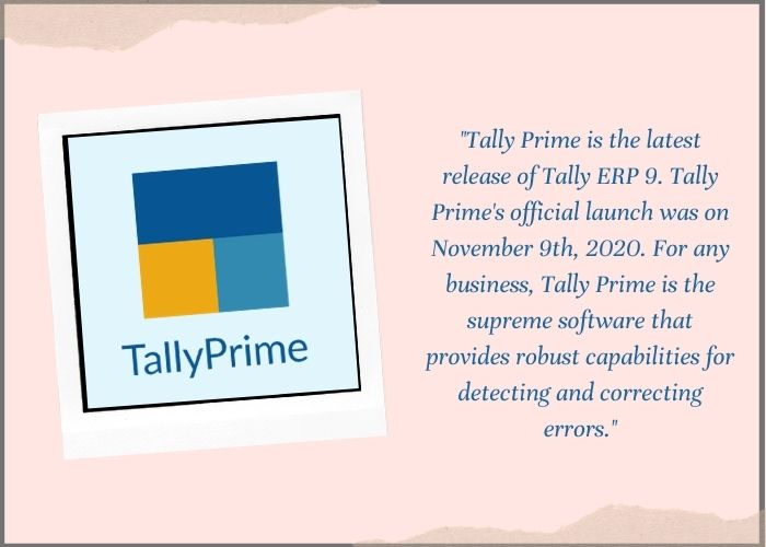 tally prime launch