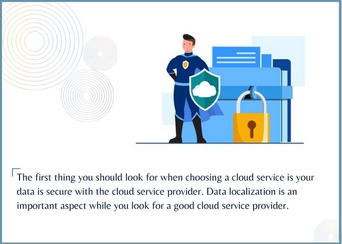 Tally Cloud data security service