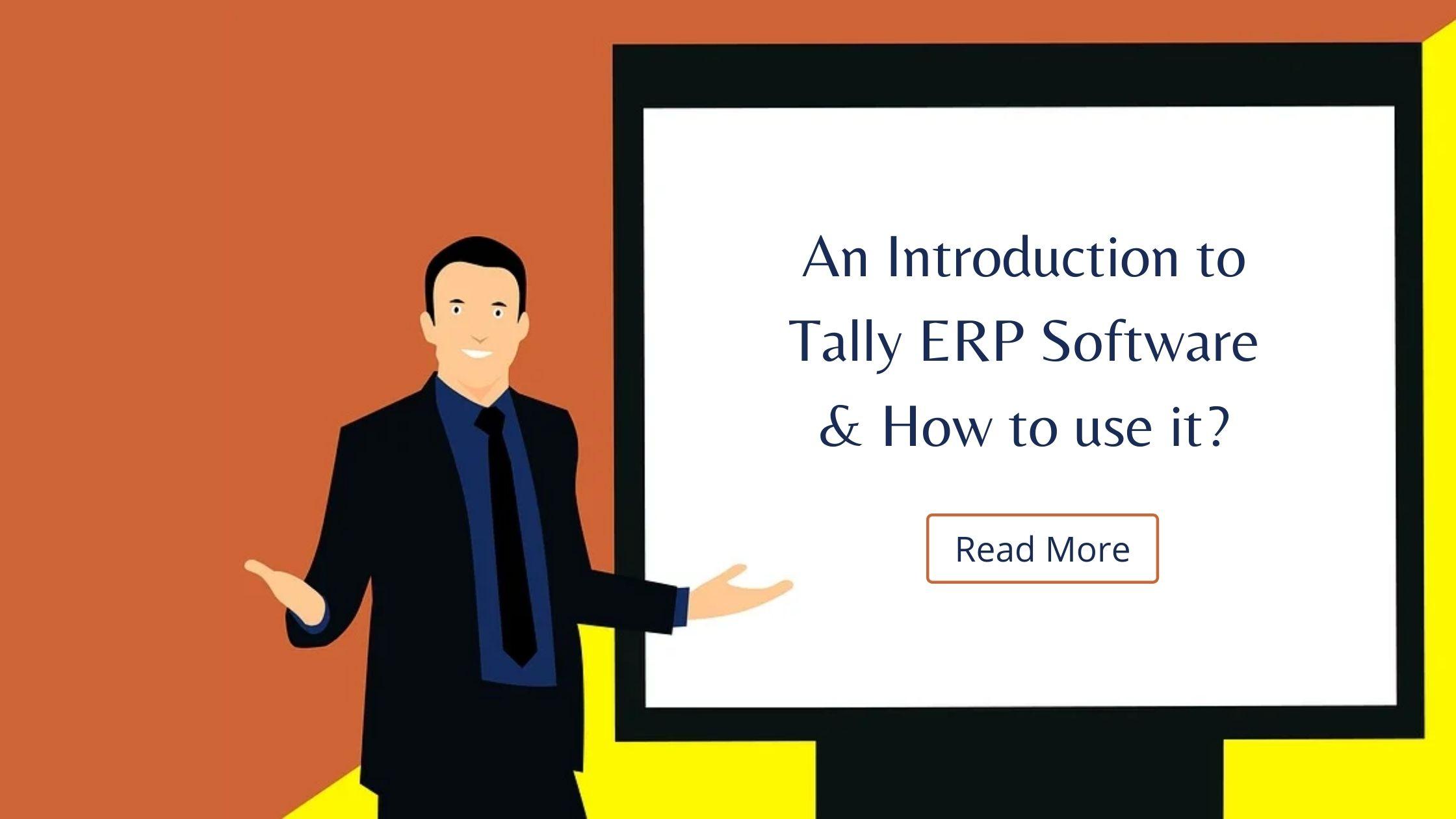 Tally ERP introduction