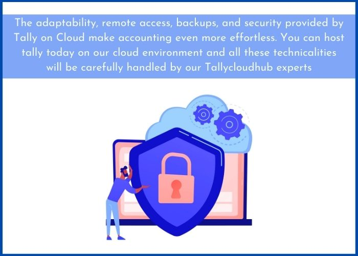 Tally on cloud service provider