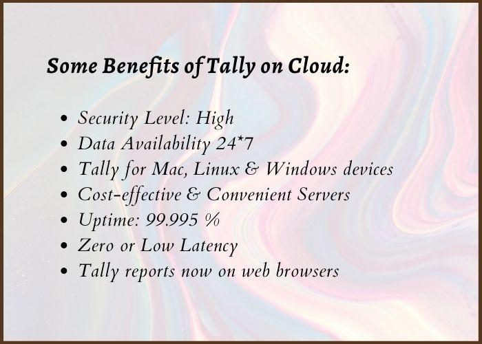 tally cloud benefits